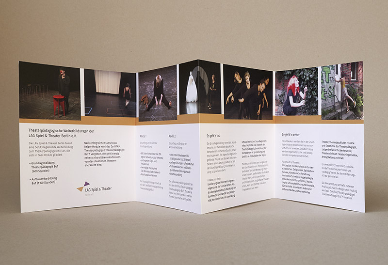 booth design unit, michaela booth, corporate design, kunstbuch, Leporello, flyer, web design