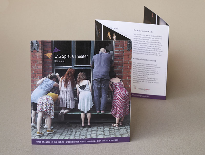 booth design unit, michaela booth, corporate design, kunstbuch, Leporello, flyer, web design