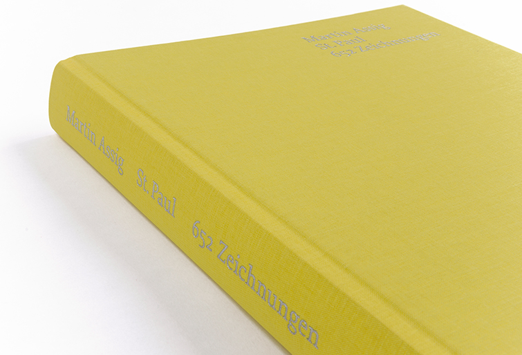 Kunstbuch St. Paul von Martin Assig - Booth Design Unit, Grafikdesign aus Berlin