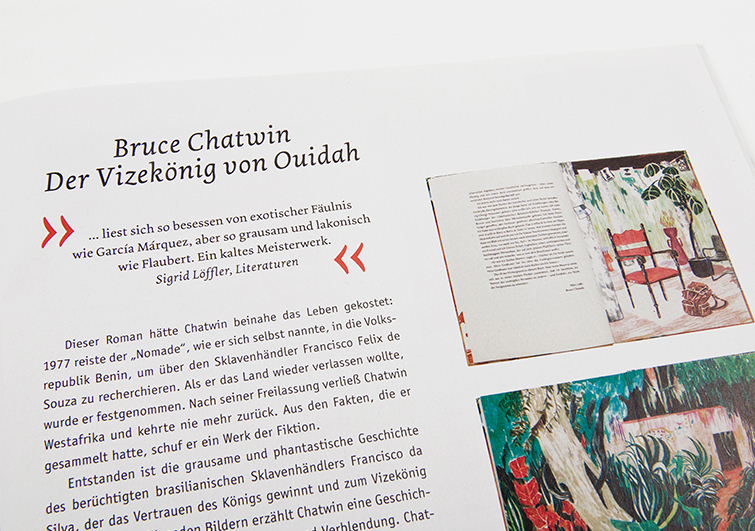 Magazin der Büchergilde Gutenberg - Booth Design Unit, Grafikdesign aus Berlin