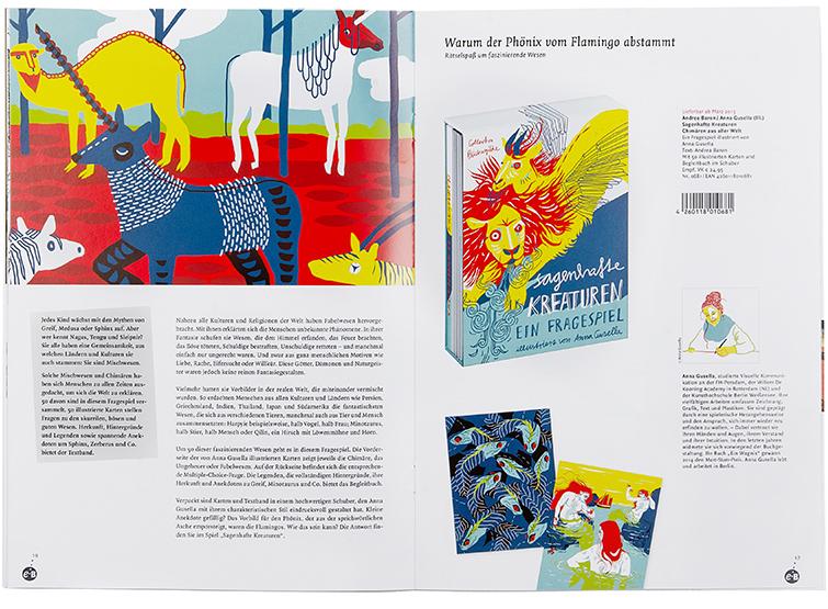 Verlagsvorschau der Edition Büchergilde - Booth Design Unit, Grafikdesign aus Berlin