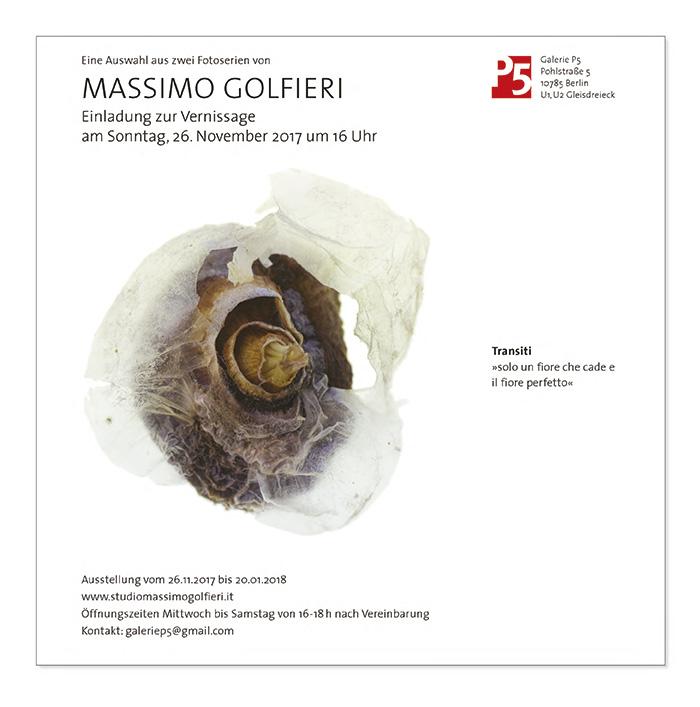 Grafikdesign in Berlin Booth Design Unit Michaela Booth Erscheinungsbild Galerie Massimo Gulfieri