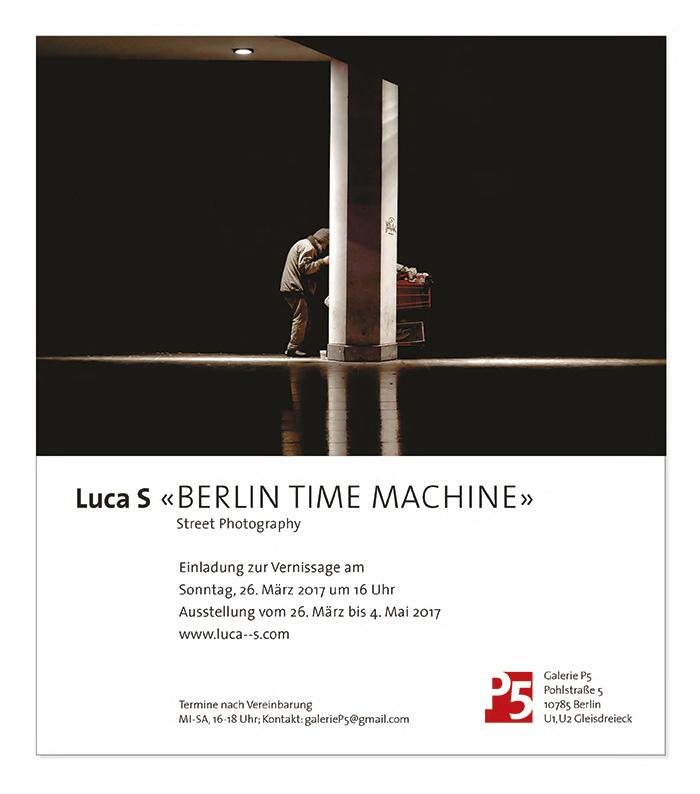 Grafikdesign in Berlin Booth Design Unit Michaela Booth Erscheinungsbild Galerie Luca S