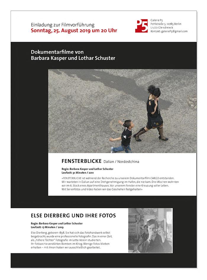 Grafikdesign in Berlin Booth Design Unit Michaela Booth Erscheinungsbild Galerie Schuster Kasper 3