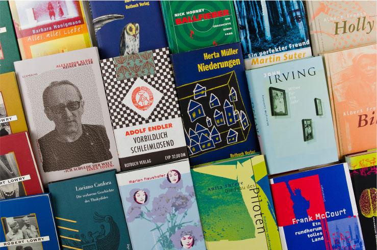Buchumschläge - Booth Design Unit, Grafikdesign, Coroporate Design, Webdesign und Logoentwicklung aus Berlin
